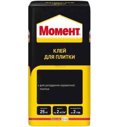 Клей для плитки Момент Moment Henkel, 25 кг