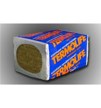 Базальтовая вата Эко Лайт 30кг/м3 50мм плита 1х0,6 Термолайф, в упаковке 7,2м2