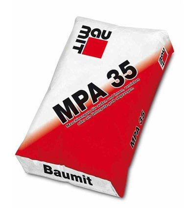 Штукатурка Баумит MPA 35 цементная машинная Baumit,25 кг