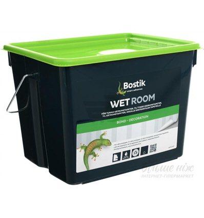 Клей Бостик 78 для стеклохолста и флизелина Bostik Wet Room 78, 15 л