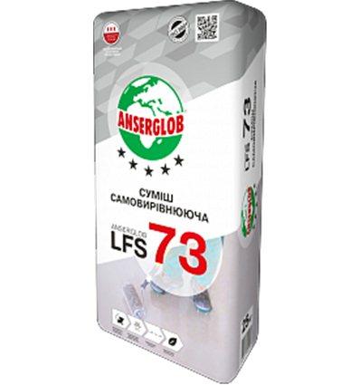 Самовыравнивающийся пол Ансерглоб LFS-73 (5-80ММ), 25кг