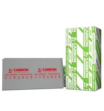 CARBON экструдированный пенополистирол Карбон пл.35кг/м3 1180х580х100мм