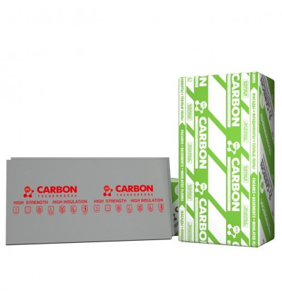 CARBON экструдированный пенополистирол Карбон пл.35кг/м3 1180х580х50мм