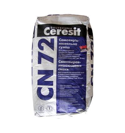 Ceresit CN-72 самовыравнивающаяся смесь (2-10мм), 25 кг