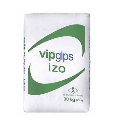 Випгипс шпаклевка гипсовая стартовая VipGips IZO, 30 кг