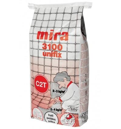 Клей для плитки Мира 3100 клей натур. камня Mira 3100 Unifix, 15кг