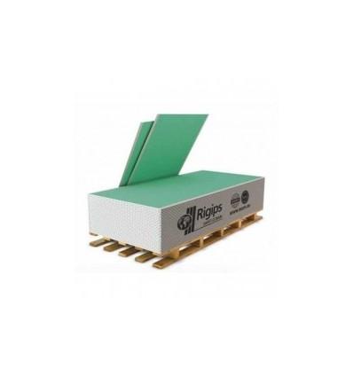 Гипсокартон РИГИПС влагостойкий 12,5 мм х 1200 х 3000 Rigips