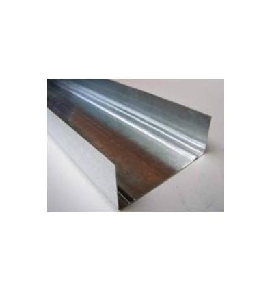 Профиль для гипсокартона UW 100 3м (0,55 мм)