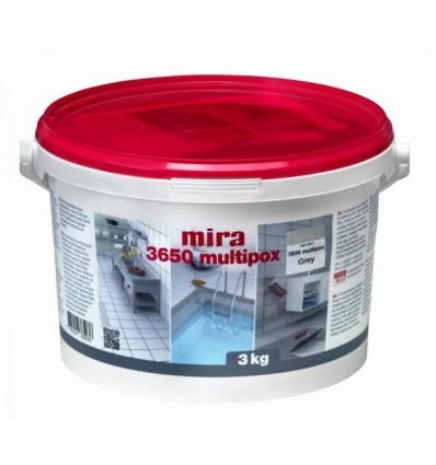 Мира 3650 multipox эпоксидный 2-компонентный клей и затирка для плитки Mira, 3кг