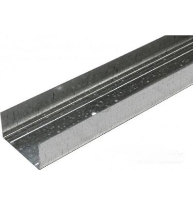 Профиль для гипсокартона Ultrastill UW75 3м (0,60 мм)