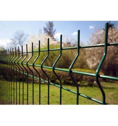 """Забор Заграда """"Стандарт Пром"""" секция оцинковка + полимер яч. 50х200мм, 2 х 2,5м"""