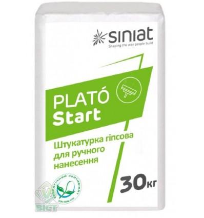 PLATO Start стартовая гипсовая штукатурка Плато Старт, 30кг
