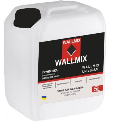 Wallmix Universal грунтовка глубокого проникновения, 10л