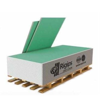 Гипсокартон РИГИПС влагостойкий 12,5 мм х 1200 х 2000 Rigips