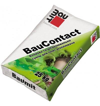 БАУМИТ клеевая шпаклевочная смесь Baumit ДуоКонтакт, 25 кг