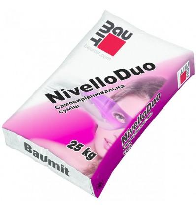 Баумит Нивелло Дуо самовыравнивающаяся смесь Baumit Nivello Duo, 25кг