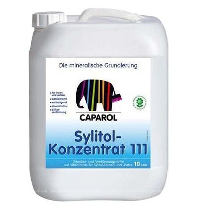 КАПАРОЛ силикатная грунтовка Sylitol 111 Konzentrat, 2,5 л