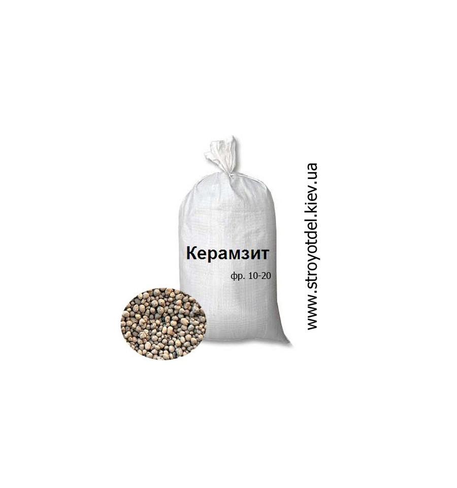 мешок керамзита объем