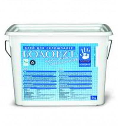 КОЛОРИТ Д-10 клей для стеклообоев Kolorit D10, 10л