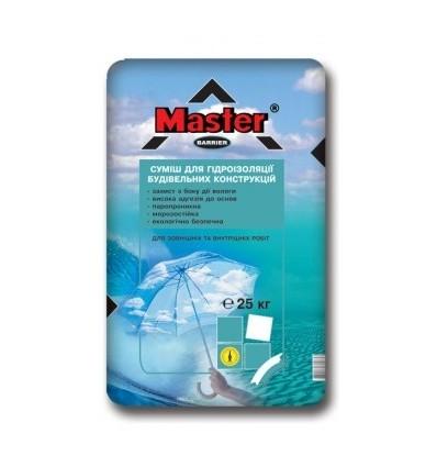 Мастер Барьер цементно-полимерная гидроизоляция, 25 кг