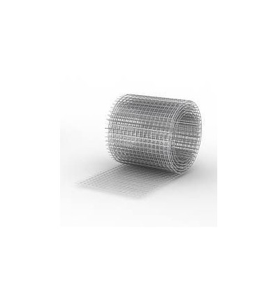 Сетка сварная штукатурная 12х12х0,7 мм чёрная (30м.п.)