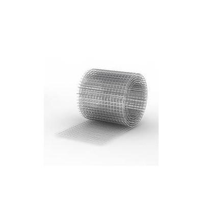 Сетка сварная штукатурная 12х25х0,9 мм чёрная (30м.п.)