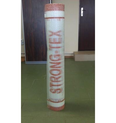 Сетка штукатурная STRONG-TEX 340гр./м2, ячейка 4х9 мм белая, 25м