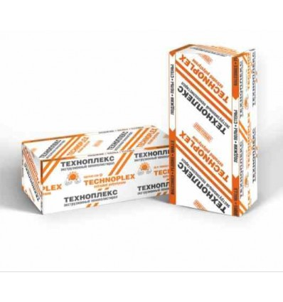 TECHNOPLEX XPS экструдированный пенополистирол Техноплекс XPS пл.35кг/м3 1180х580х30мм