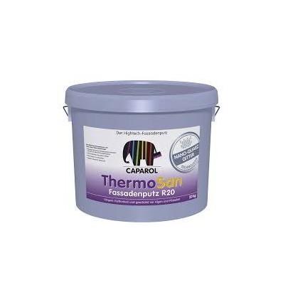 Декоративная штукатурка ThermoSan NQG Fassadenputz K20 Weiß. Размер зерна 2,0мм.