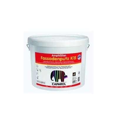 Декоративная штукатурка Amphisilan-Fassadenputz K 15 world Transparent. Размер зерна 1,5